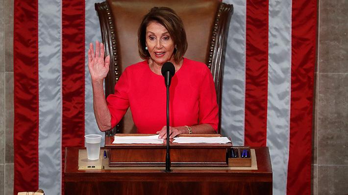 Confirman a Nancy Pelosi como líder de la Cámara de Representantes de EE.UU.