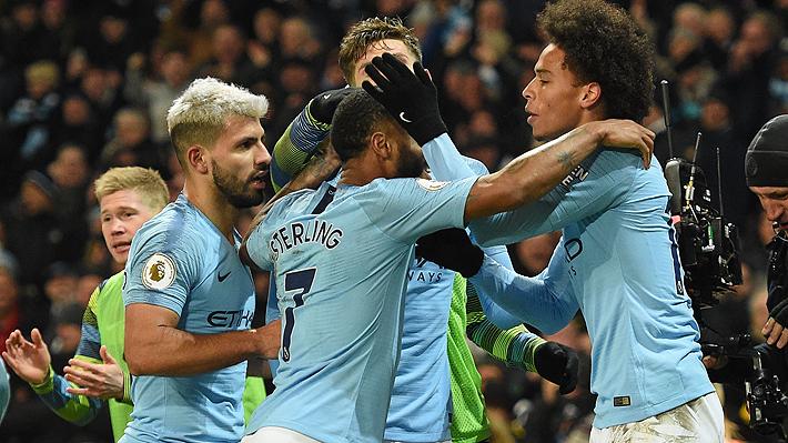 En un partidazo, el City vence al Liverpool y se le acerca a cuatro puntos en la Premier