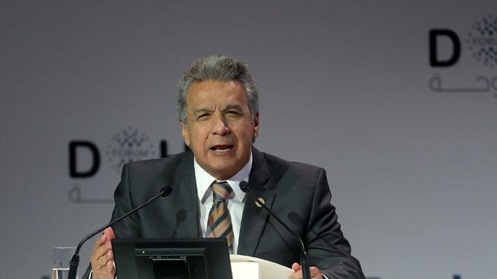 Presidente de Ecuador denuncia millonarios perjuicios económicos ocurridos durante el gobierno de Correa