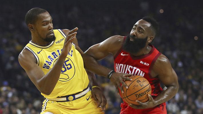 Increíble final con polémica incluida en el partido en que los Rockets vencieron a los Warriors en la NBA