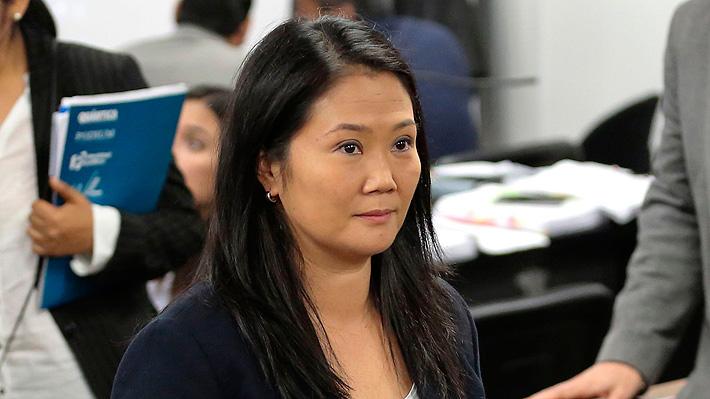 Keiko Fujimori continuará en prisión preventiva tras rechazo a recurso de apelación