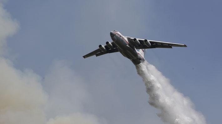 """Parlamentarios RN solicitan a Rusia hidroavión """"experto"""" en combate de incendios forestales"""