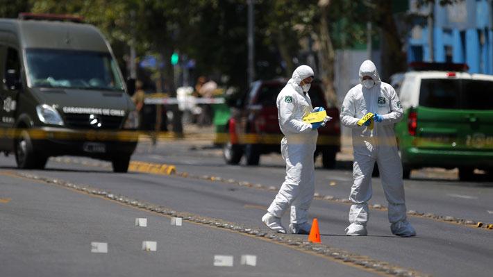 """Repasa en """"tiempo real"""" la explosión en Santiago centro que dejó cinco heridos"""