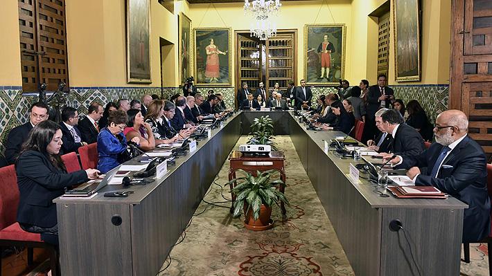 Grupo de Lima advierte que no reconocerá al gobierno de Maduro en Venezuela si asume nuevo mandato