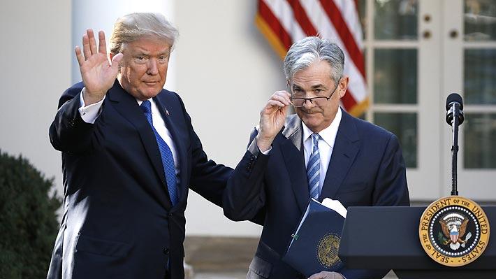 Presidente de la Fed asegura que no dimitirá si Trump se lo pide y le envía mensaje al Mandatario