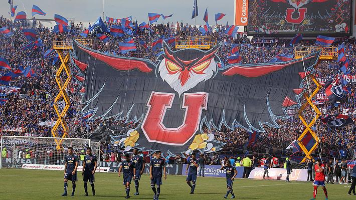 Informe revela que la U fue el equipo que más hinchas llevó al estadio durante el 2018