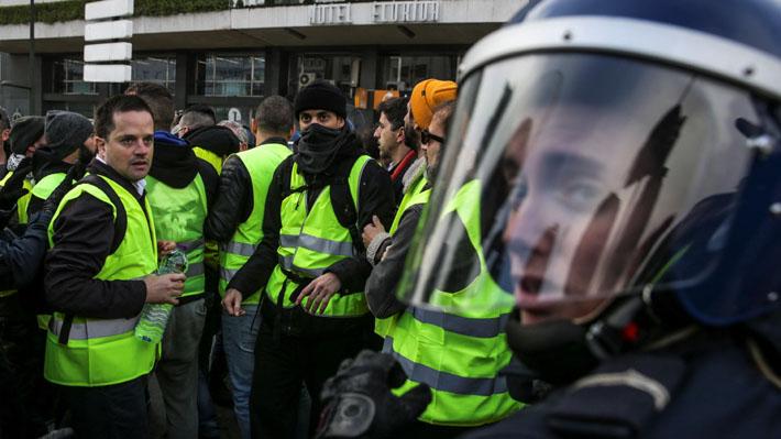 """""""Chalecos amarillos"""" convocan a nueva manifestación en Francia tras el arresto de su líder"""