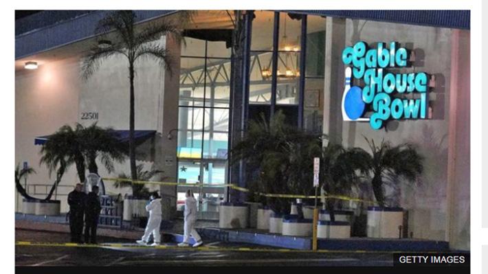 Tres personas murieron tras tiroteo en centro de entretenimientos en EE.UU.