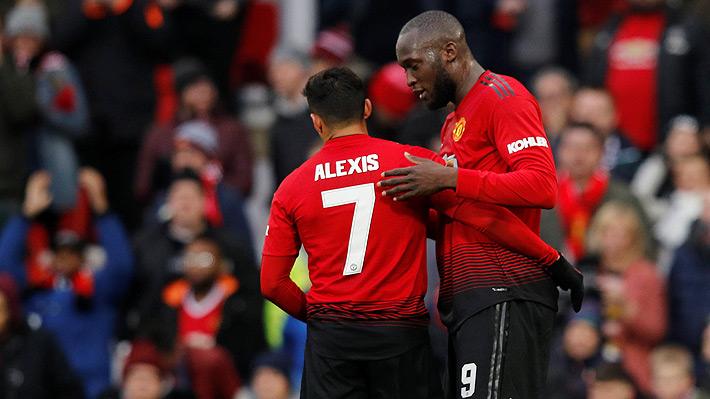 Mira la quirúrgica asistencia de Alexis Sánchez para Lukaku en el duelo del United ante Reading