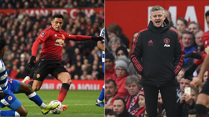 DT del United explicó la lesión de Alexis y confía en que pueda estar en el próximo choque ante Tottenham