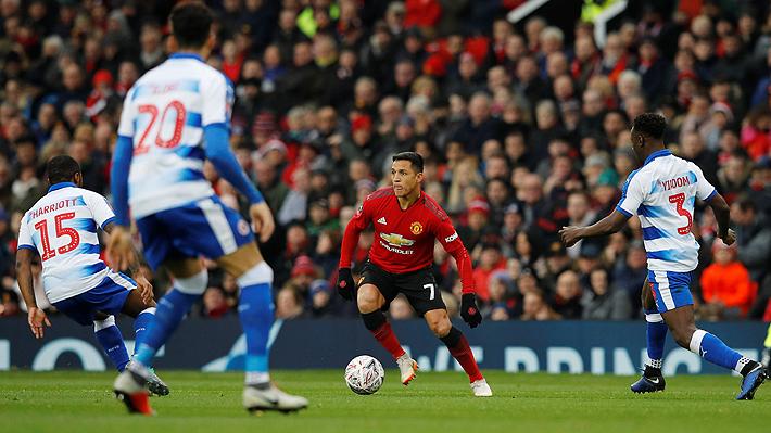 Cómo Alexis se ha movido en el frente de ataque del United y la clave para convencer a Solskjaer de ser titular