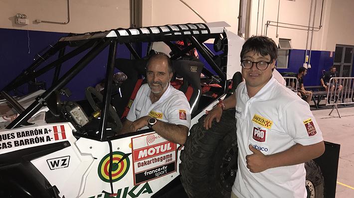 Quién es Lucas Barrón, el joven que se convertirá en la primera persona con Síndrome de Down en participar en el Dakar