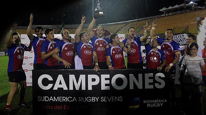 """Los """"Cóndores"""" derrotan en la agonía a Argentina en la final y se proclaman campeones invictos del Seven de Punta del Este"""