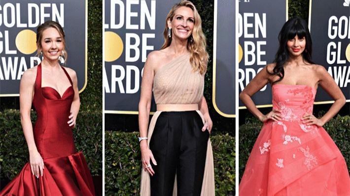 Galería: Revisa los looks que marcaron tendencia en la alfombra roja de los Globos de Oro 2019
