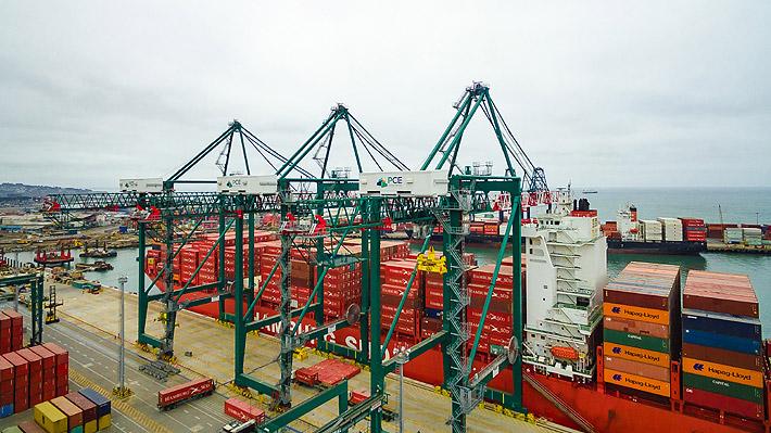 Chile logra un superávit comercial superior a los US$5 mil millones en 2018