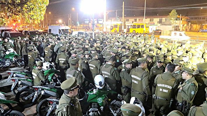 Primera ronda nacional de Carabineros bajo mandato de general Rozas termina con 3.213 detenidos y un fallecido