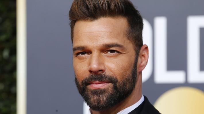 Ricky Martin compartió imagen junto a su hija recién nacida en horas previas a los Globos de Oro