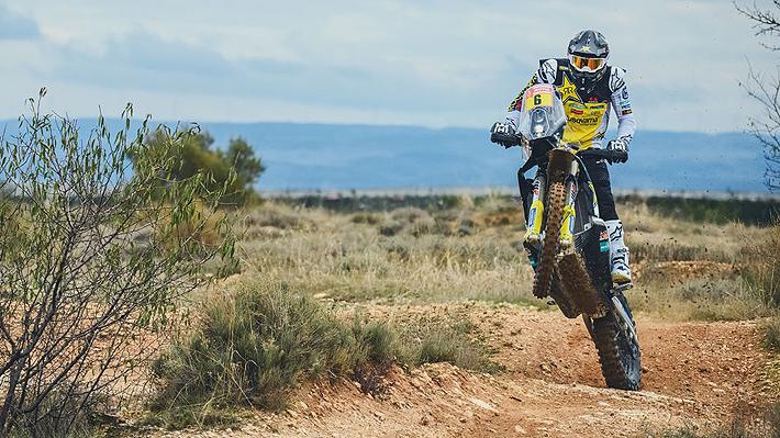 Pablo Quintanilla tiene un buen inicio y termina 2° en la primera etapa del Dakar 2019