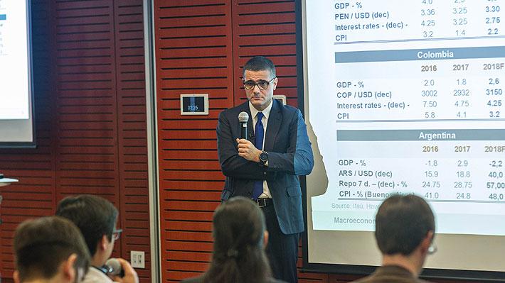 Economista jefe de Itaú Unibanco: Bolsonaro quiere emular la economía de Chile