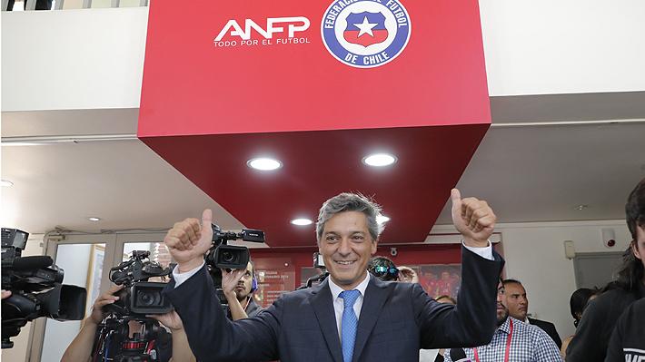 Sebastián Moreno asume en la ANFP con claros mensajes por el caso Barnechea y por una posible impugnación a su triunfo