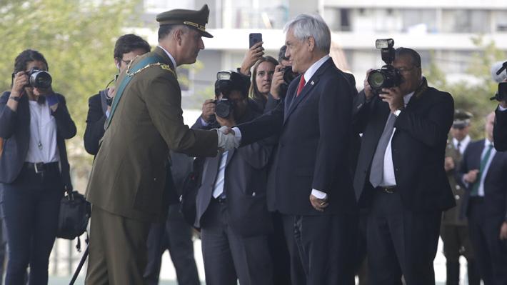"""Piñera tras asunción de Mario Rozas: """"Hay elementos que obligan a una profunda modernización de Carabineros"""""""