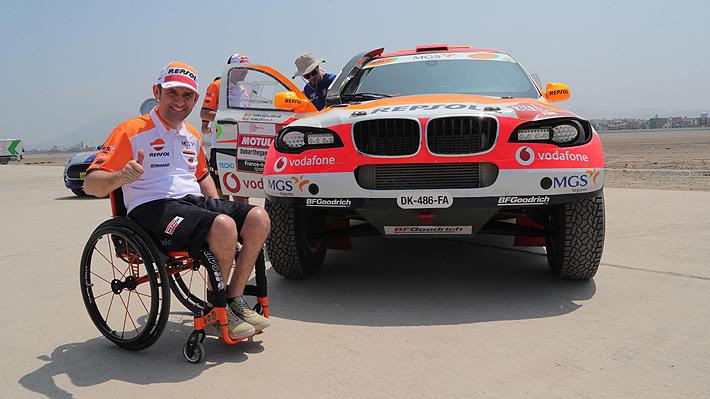 La historia de Isidre Esteve, el español que quedó parapléjico en 2007, pero que ya completa su 14° Dakar