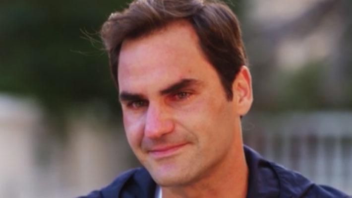 El crudo recuerdo que provocó que Federer se quiebre y llore desconsoladamente en medio de una entrevista