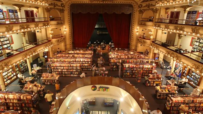 National Geographic elige a la librería más linda del mundo y es latinoamericana