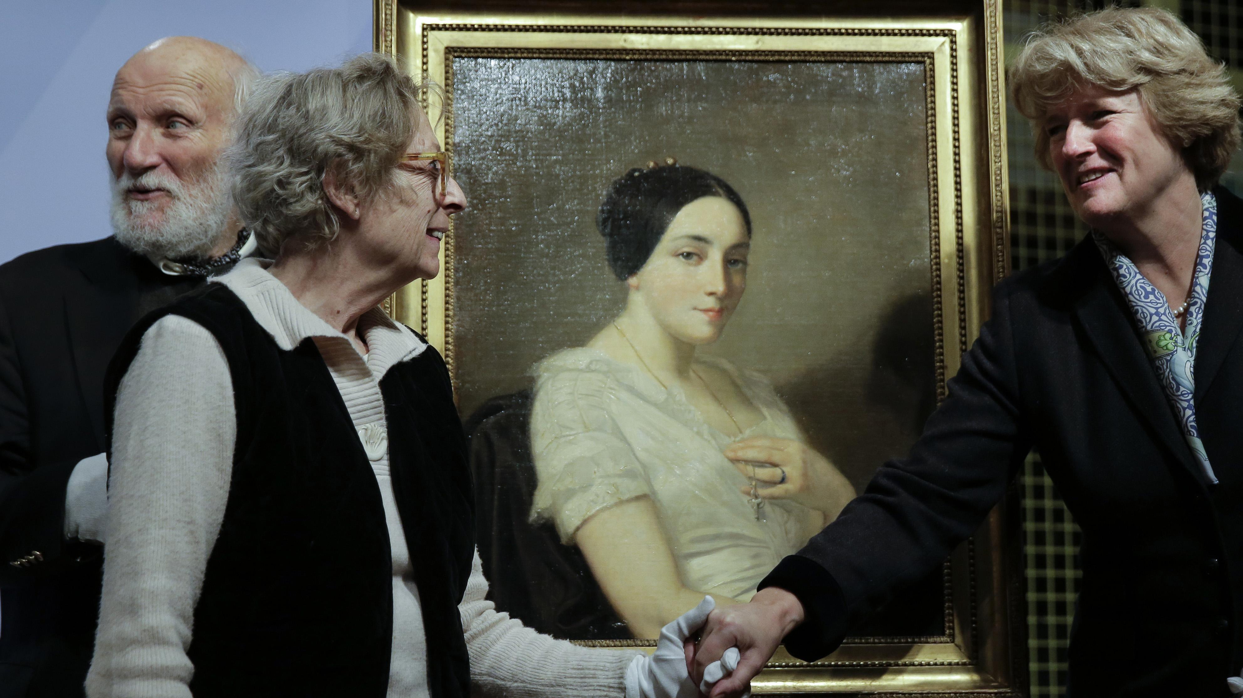 Alemania devuelve a sus dueños legítimos una pintura robada durante la Segunda Guerra Mundial