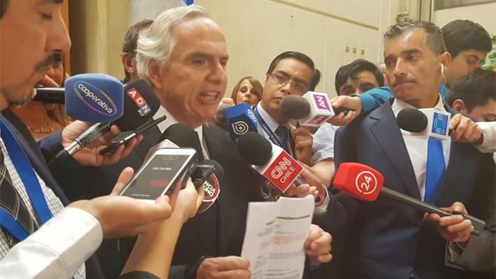 """Chadwick ante críticas de la oposición por caso Catrillanca: """"No he pensado en renunciar"""""""