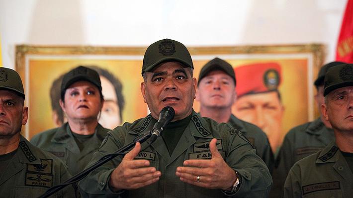 """Alto mando militar venezolano declaró su """"irrestricto apoyo"""" al nuevo mandato de Maduro"""