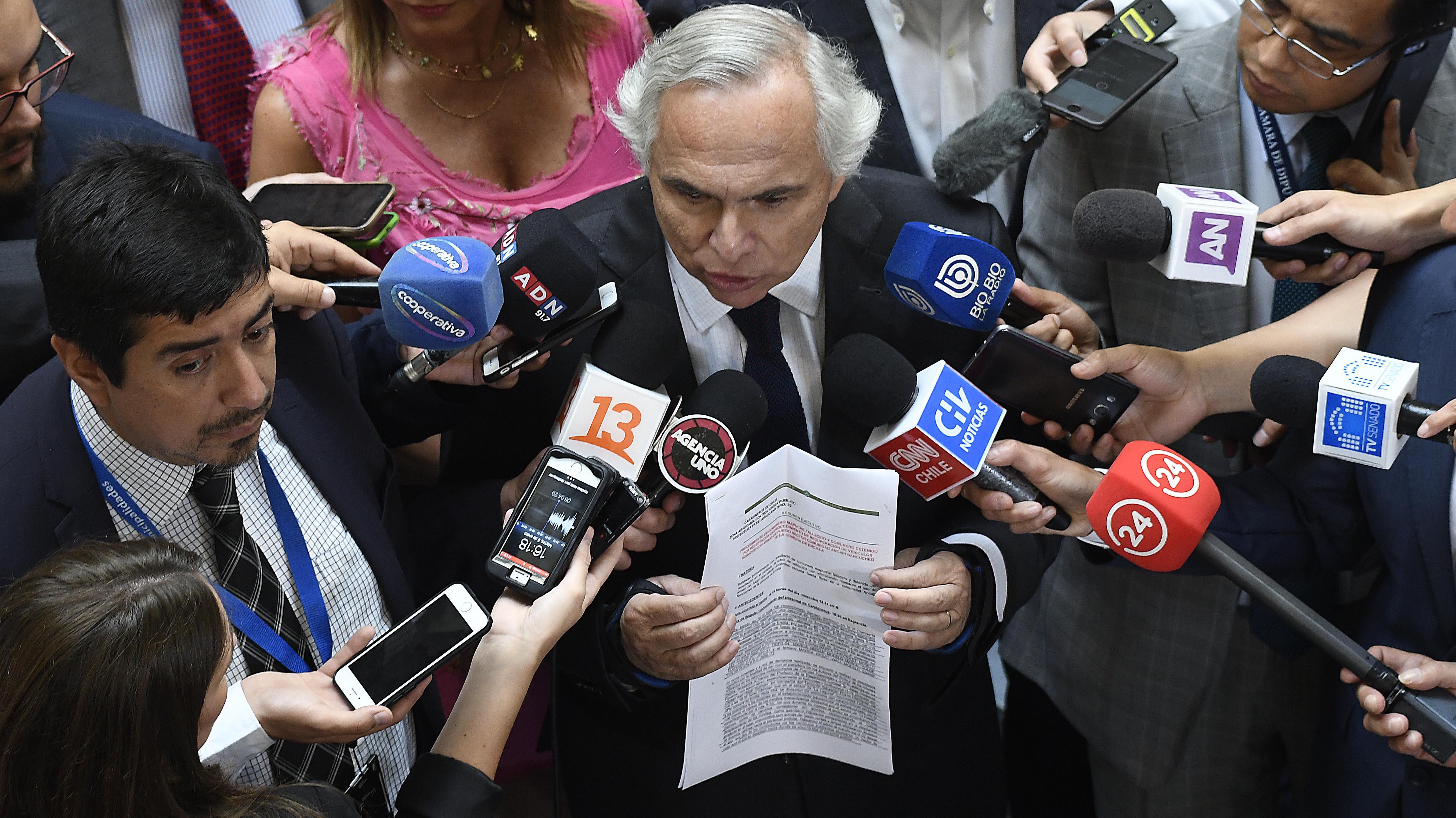 El informe de Carabineros que recibió el ministro Chadwick horas después de la muerte de Catrillanca