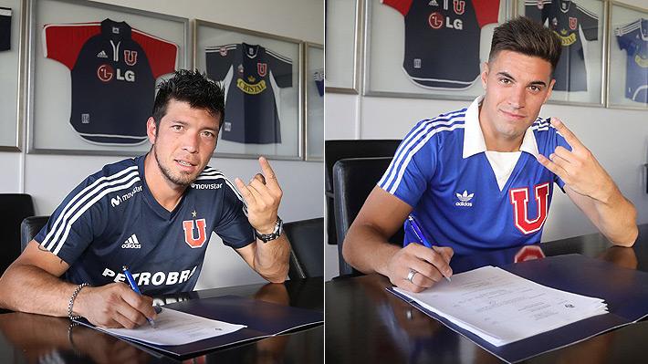 La U oficializó los fichajes de Sergio Vittor y Nicolás Oroz y ya suma siete refuerzos para esta temporada