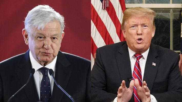 """AMLO descarta involucrarse en planes de Trump de declarar """"emergencia nacional"""" para construir el muro"""