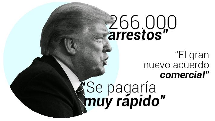 """¿Verdadero, falso?: El análisis a los dichos de Trump sobre la """"crisis"""" fronteriza"""