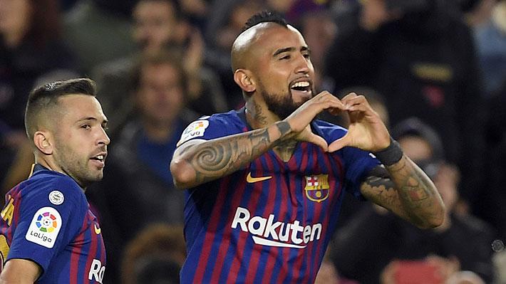 """Valverde sorprende y asegura que """"es una posibilidad"""" que utilice a Vidal como """"9"""" en el Barcelona"""