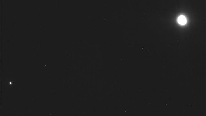 Osiris-REx envía una fotografía de la Tierra tomada a 112 millones de kilómetros