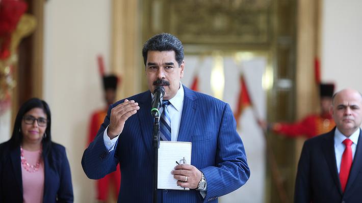 """Maduro amenaza con """"crudas medidas"""" al Grupo de Lima si no cambia su postura en 48 horas"""