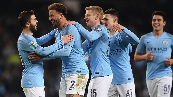 """El City no tuvo piedad y """"aniquiló"""" 9-0 a su rival en las semis de la Copa de la Liga: Conoce los hitos que rompió"""