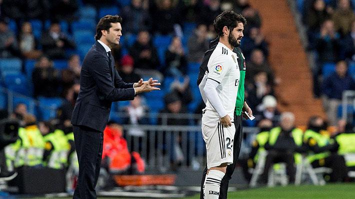 """Quiebre """"total"""" entre figura del Real Madrid y su entrenador Santiago Solari"""