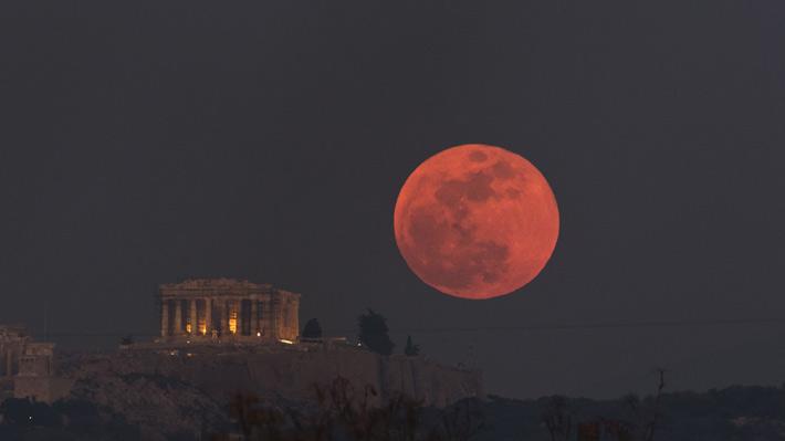 La primera Súper Luna del año será a fines de enero y viene acompañada de un eclipse visible en Chile