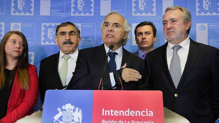 El despliegue del Gobierno en La Araucanía: Dos ministros en la región y oficina de apoyo a víctimas
