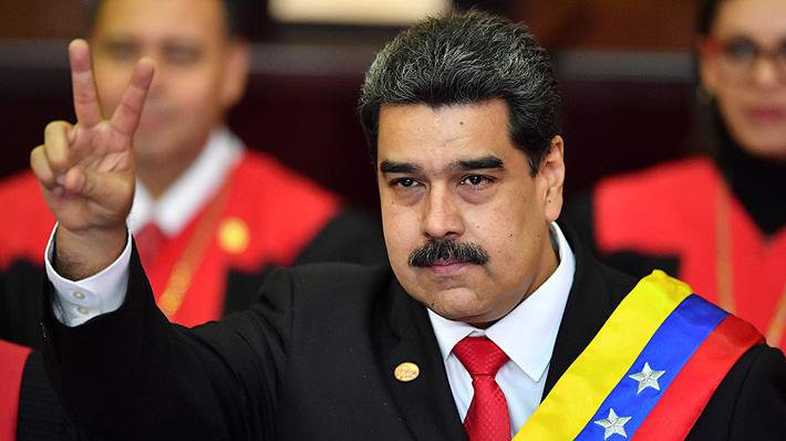 """Maduro se compromete a seguir con el mandato de Hugo Chávez: """"No daré descanso a mi brazo ni reposo a mi alma"""""""