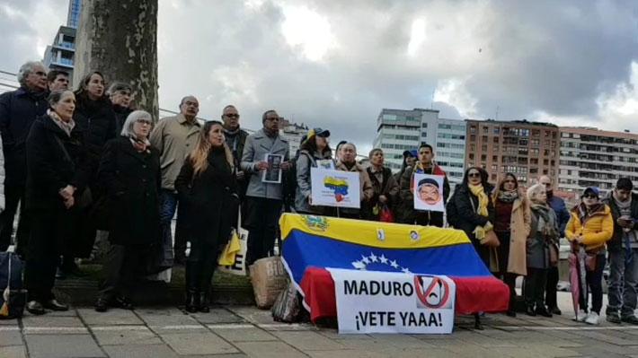 Maduro asume nuevo mandato: Ciudadanos venezolanos se manifiestan a las afueras de sus embajadas en diversos países