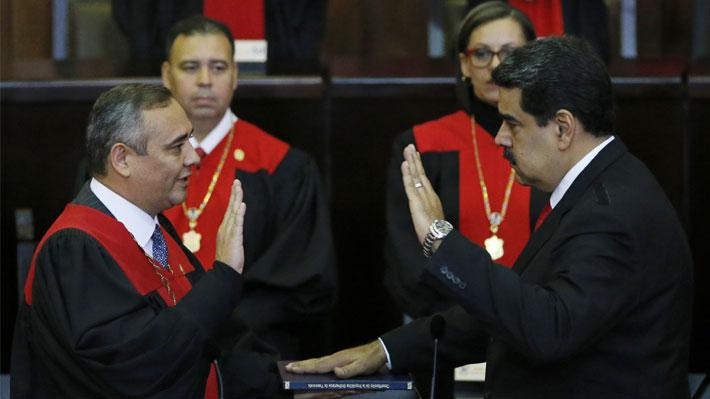 OEA y EE.UU. declaran la ilegitimidad del nuevo Gobierno de Nicolás Maduro