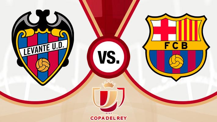 Reviva la inesperada derrota del Barcelona ante el Levante por la Copa del Rey