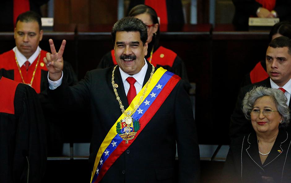 Fotos: Presidente Nicolás Maduro asume segundo mandato de seis años