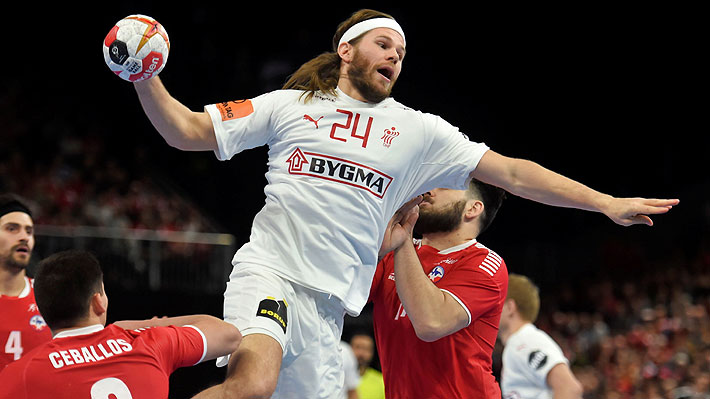 Chile no puede ante el poderío de Dinamarca y cae en su debut en el Mundial de Balonmano