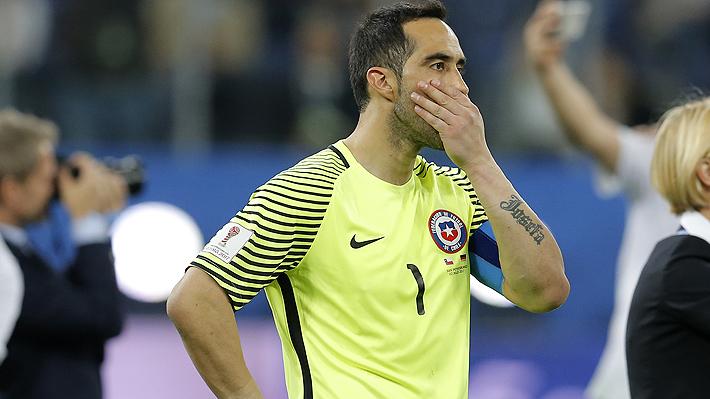 Claudio Bravo habría sufrido infección que lo dejaría fuera de la Copa América aunque lo llamen