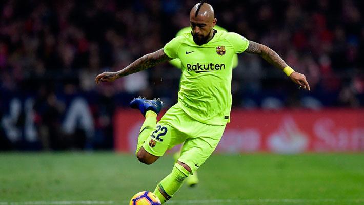 Pese al buen partido de Vidal, Barcelona cayó sorpresivamente ante el Levante por la Copa del Rey
